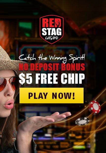 $5.00 in Free Play at Red Stag Casino