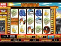 Iron Man Slots (CryptoLogic)