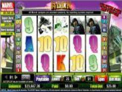 The Incredible Hulk Slots (WagerLogic)